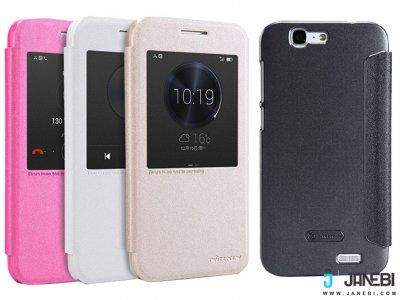 کیف نیلکین هواوی Nillkin Sparkle Leather Case Huawei Ascend G7