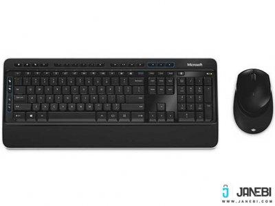 موس و کیبورد بی سیم مایکروسافت Microsoft Desktop Wireless 3050