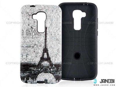 قاب محافظ گوشی هواوی طرح برج ایفل Mobile Case Huawei G8