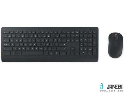 موس و کیبورد بی سیم مایکروسافت Microsoft Wireless Desktop 900