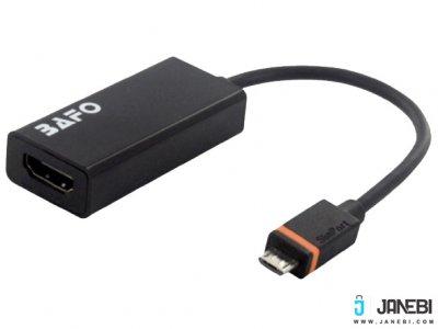 مبدل اسلیم پورت به اچ دی ام آی بافو BAFO SlimPort to HDMI Adapter BF-2641