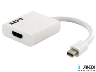 مبدل مینی دیسپلی پورت به اچ دی ام آی بافو BAFO Mini DispalyPort to HDMI Adapter(Active) BF-2653