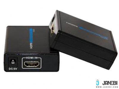 توسعه دهنده اچ دی ام آی تا 60 متر بافو BAFO HDMI Extender Cat 6 BF-372