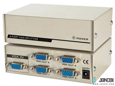 اسپلیتر وی جی ای 4 پورت 250 مگاهرتز بافو BAFO VGA Splitter BF-H233