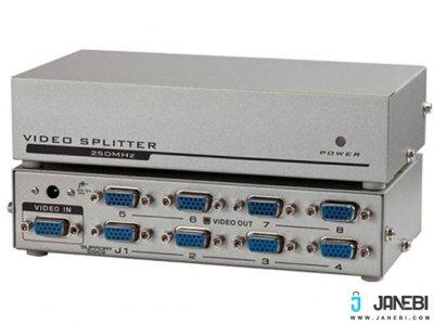 اسپلیتر وی جی ای 8 پورت 250 مگاهرتز بافو BAFO VGA Splitter BF-H236