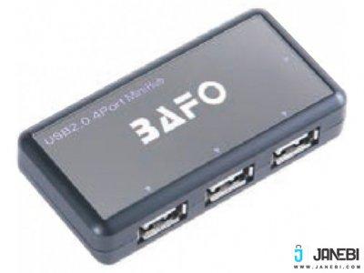 هاب یو اس بی 4 پورت بافو BAFO USB 2.0 HUB W/Power Adapter BF-H302