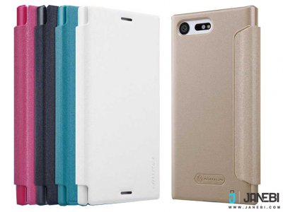 کیف نیلکین سونی Nillkin Sparkle Leather Case Sony Xperia X Compact