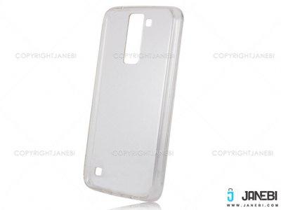محافظ شیشه ای - ژله ای  ال جی LG K8 Transparent Cover