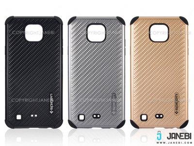 قاب محافظ طرح اسپیگن ال جی LG X cam Mobile Case