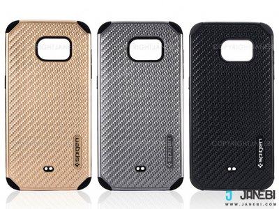 قاب محافظ طرح اسپیگن سامسونگ Samsung S7 Edge Mobile Case