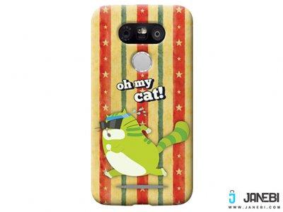 قاب محافظ اصلی ال جی Voia Character Printing Case Oh My Cat LG G5