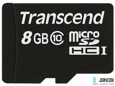 رم میکرو اس دی 8 گیگابایت ترنسند Transcend 8GB microSDHC Premium 200X Class 10