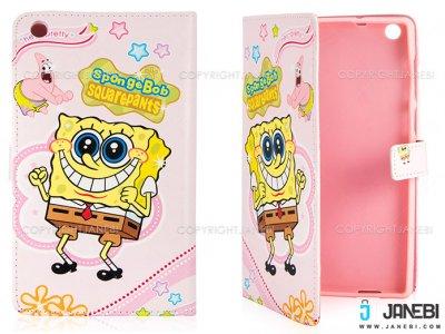 کیف تبلت ایسوس طرح باب اسفنجی صورتی Colourful Case Asus ZenPad C 7.0 Z170MG SpongeBob