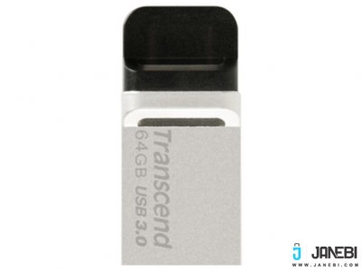 فلش مموری ترنسند Transcend 64GB JetFlash JF880 USB 3.0 OTG Flash Drive