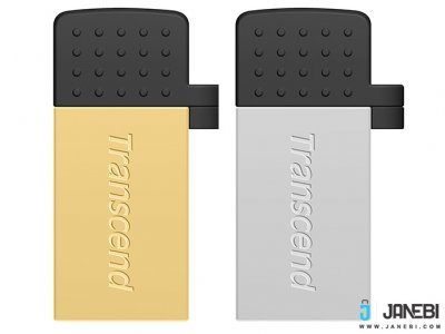 فلش مموری ترنسند Transcend 8GB JetFlash JF380G USB 2.0 OTG Flash Drive
