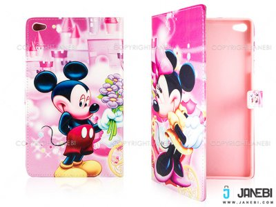 کیف تبلت هواوی طرح میکی موس Colourful Case Huawei Mediapad M2 8.0 Micky Mouse