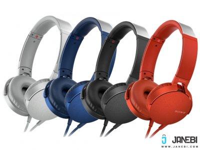 هدفون سونی Sony MDR-XB550AP Extra Bass Headphone
