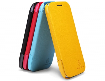 کیف چرمی نیلکین سامسونگ Nillkin Leather Case Samsung Galaxy Core