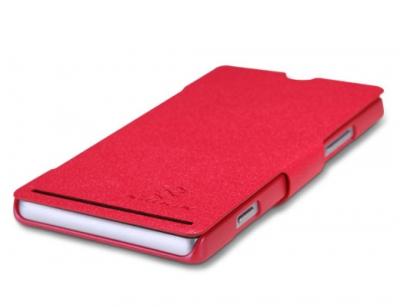 کیف چرمی نیلکین سونی Nillkin Leather Case Sony Xperia SP
