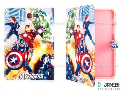 کیف تبلت سامسونگ طرح اونجرز Colourful Case Samsung Galaxy Tab S2 8.0 Avengers