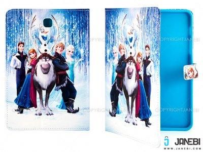 کیف تبلت سامسونگ طرح انیمیشن فروزن Colourful Case Samsung Galaxy Tab S2 8.0 Frozen Animation