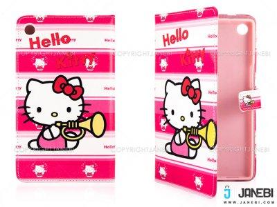 کیف تبلت ایسوس طرح کیتی Colourful Case Asus Zenpad 7.0 Z370CG Kitty