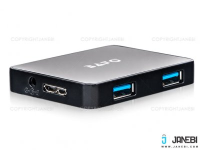 هاب یو اس بی 4 پورت بافو BAFO 4 Port SuperSpeed USB 3.0 HUB BF-H304