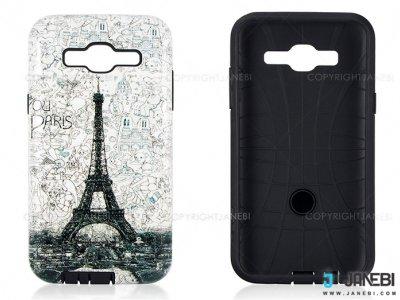 قاب محافظ سامسونگ طرح برج ایفل Mobile Case Samsung Galaxy J5