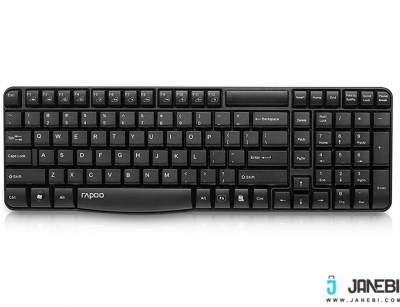 کیبورد بی سیم رپو Rapoo E1050 Wireless Keyboard