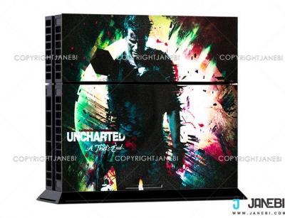 کاور اسکین کنسول بازی پلی استیشن 4 PS4 Skin Uncharted-4