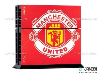 کاور اسکین کنسول بازی پلی استیشن 4 PS4 Skin Manchseter United