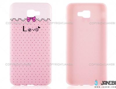 محافظ ژله ای سامسونگ طرح عشق Mobile Case Samsung On5 2016