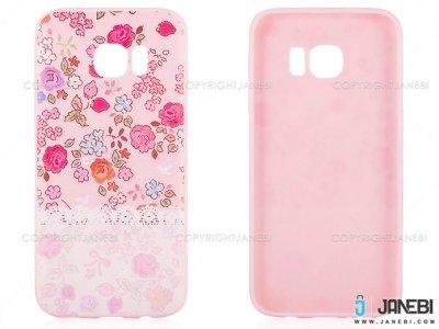 محافظ ژله ای سامسونگ طرح گل Mobile Case Samsung Galaxy S7 Edge