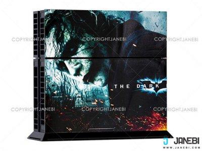 کاور اسکین کنسول بازی پلی استیشن 4 PS4 Skin The Dark Knight