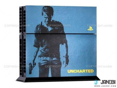 کاور اسکین کنسول بازی پلی استیشن 4 PS4 Skin UnCharted
