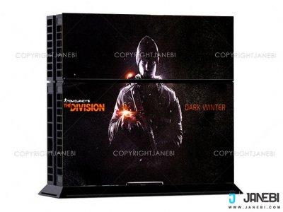 کاور اسکین کنسول بازی پلی استیشن 4 PS4 Skin The Division