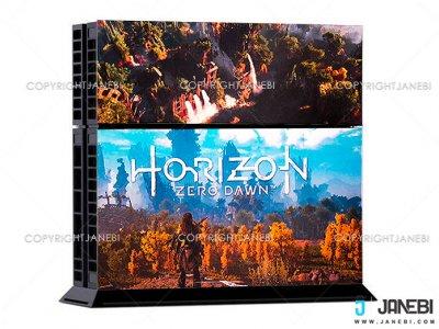 کاور اسکین کنسول بازی پلی استیشن 4 PS4 Skin Horizon Zero Dawn