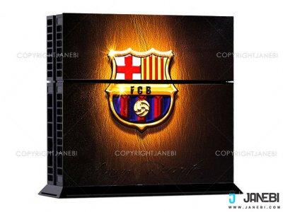 کاور اسکین (بارسلونا 3) کنسول بازی پلی استیشن 4 PS4 Skin FC Barcelona