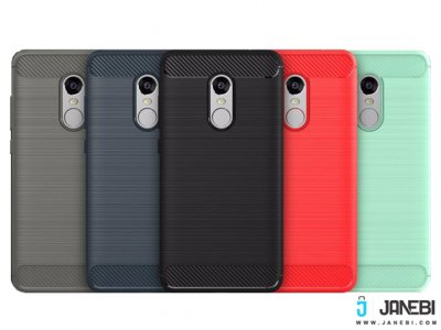 محاففظ ژله ای شیائومی Brushed TPU Matl Case Xiaomi RedMi Note 4