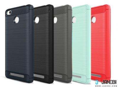 محافظ ژله ای شیائومی Carbon Fibre Case Xiaomi Redmi 3S