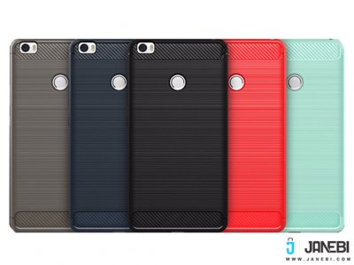 محافظ ژله ای شیائومی Carbon Fibre Case Xiaomi Mi Max