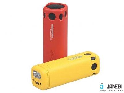پاوربانک و اسپیکر بلوتوث پرومیت Promate BikerMate Wireless Speaker Powerbank 8000mAh