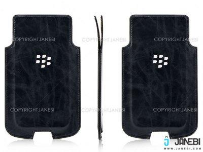 کیف چرمی بلک بری Blackberry DTEK50 Leather Bag