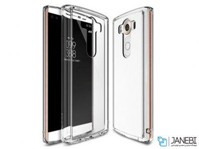 محافظ شیشه ای - ژله ای ال جی LG V10 Transparent Cover