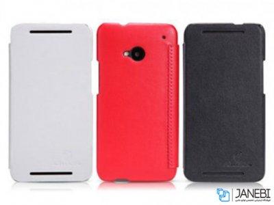کیف چرمی نیلکین اچ تی سی Nillkin Leather Case HTC ONE M7
