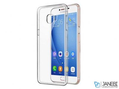 محافظ شیشه ای - ژله ای سامسونگ Samsung Galaxy J7 Prime Transparent Cover