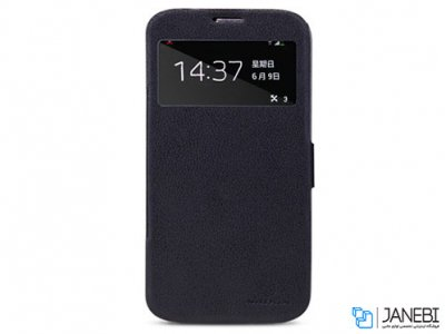 کیف چرمی نیلکین سامسونگ Nillkin Fresh Series Leather Case Samsung Galaxy Mega 6.3