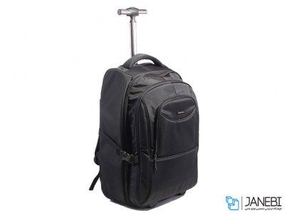 کوله چرخ دار لپ تاپ 16.1 اینچ کینگ سانز Kingsons Laptop Trolley Backpack K8380W