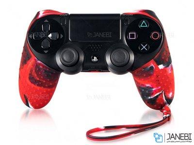 روکش ژله ای دسته بازی طرح نیم تنه PS4 Joystick Jelly Cover