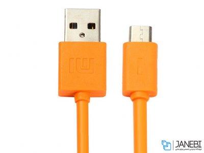 کابل شارژ و انتقال داده میکرو یو اس بی شیائومی Xiaomi Round Woven Micro USB Charge Cable